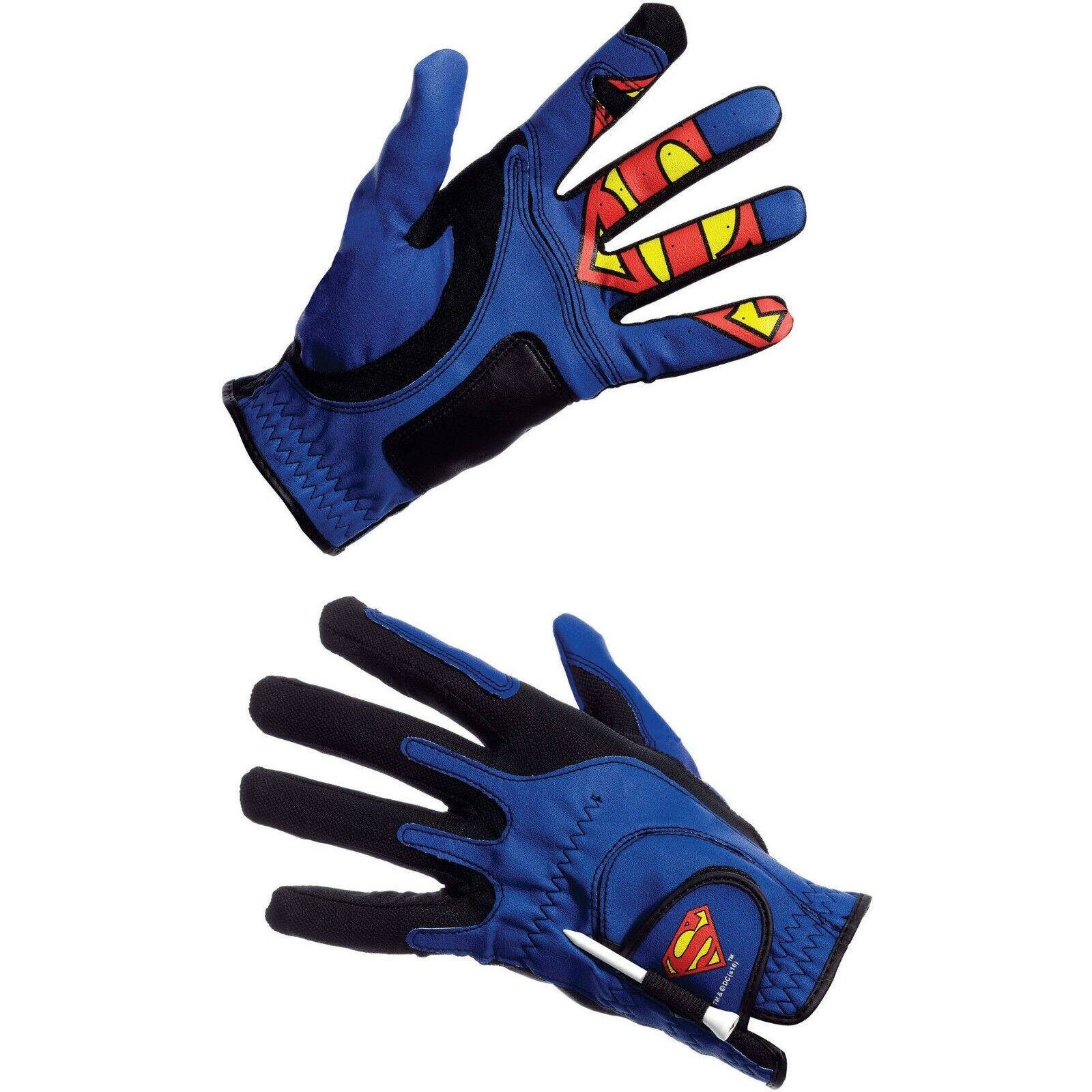 new superman glove unisex one size tee