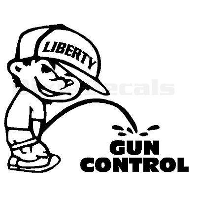 0/% Liberal Sticker Vinyl Decal Anti Liberal Gun Rights NRA Conservative  V313