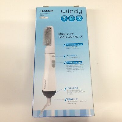 TESCOM windy curl dryer gray TS20-H Shipping From Japan