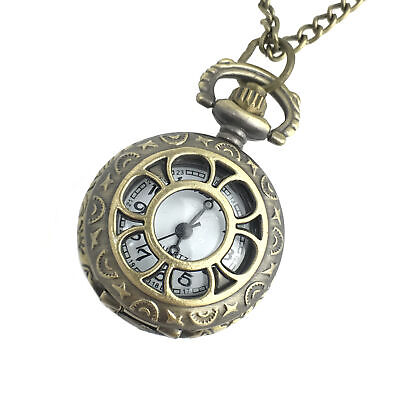 Steampunk necklace costume accessories jewelry pocket watch