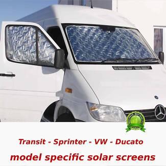 NEW solar insulation - screen sun-shade  RV, Campervan, Motorhome Geebung Brisbane North East Preview