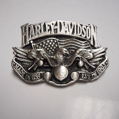 HARLEY DAVIDSON  *****EAGLE / RIDING BIKE **** FANTASTIC****   PIN