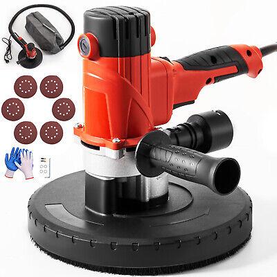 Drywall Sander 1200w 225mm Handheld 5 Variable Speed Sanding Pad W Vacuum Bag