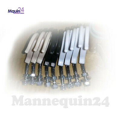 7 Hooks For Our Plastic Hanging Mannequins -bent To Hang Mannequins Straight