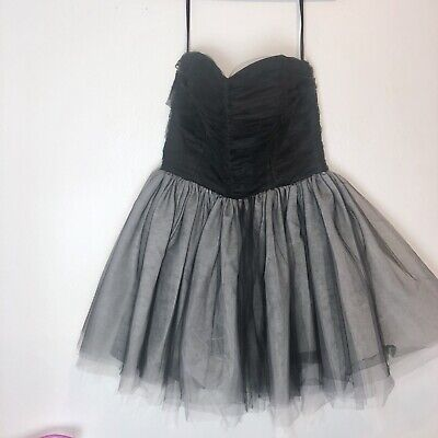Betsey Johnson Strapless Tulle Homecoming Party Prom Graduation Dress](Homecoming Party)