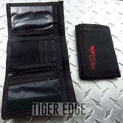 WALLET | Rite Edge Black Secure Velcro Nylon Standard Men's