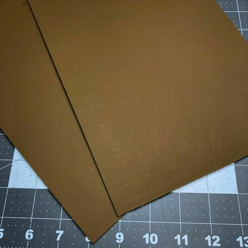 2 Sheets Coyote Brown 8 x 12 x .080 Thick Kydex T Holster Sh