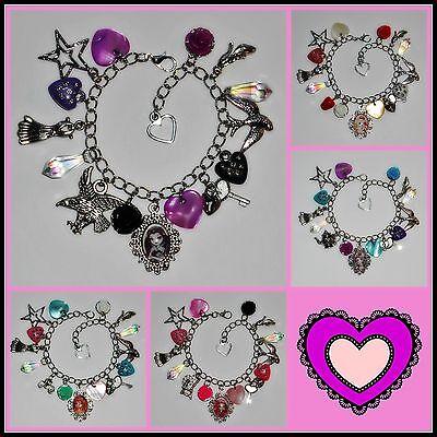 Ever After High Character Charm Bracelets - Apple, Raven, Briar, Maddie, Ashlyn