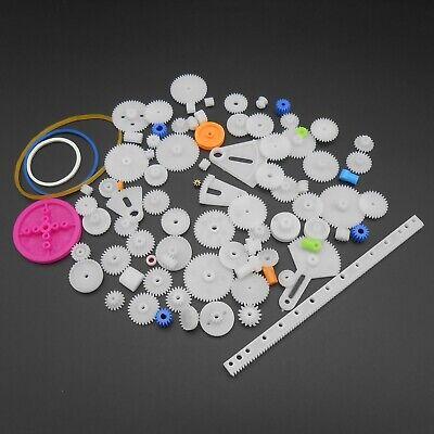 85 Kinds Plastic Rack Pulley Belt Worm Gears Single Double Crown Sleeve Tee Gear