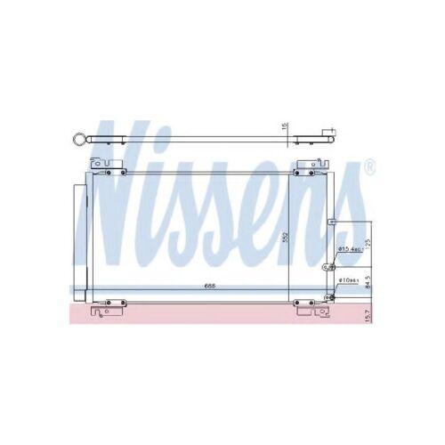Genuine Nissens A/C Air Con Condenser - 940574