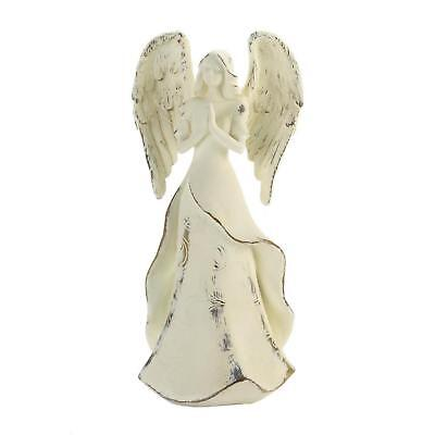 Strength In Prayer Angel Statue Figurine - Spiritual Decor