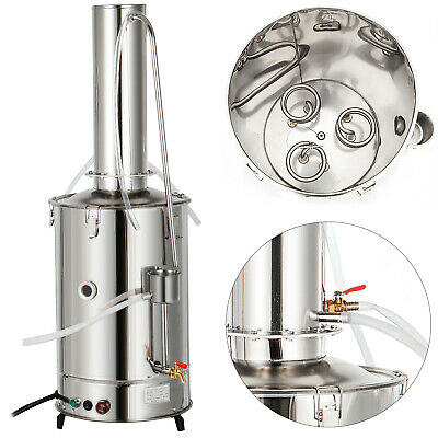 20lh Lab Pure Water Distiller Stainless Steel Dental Durable Electric Hospital