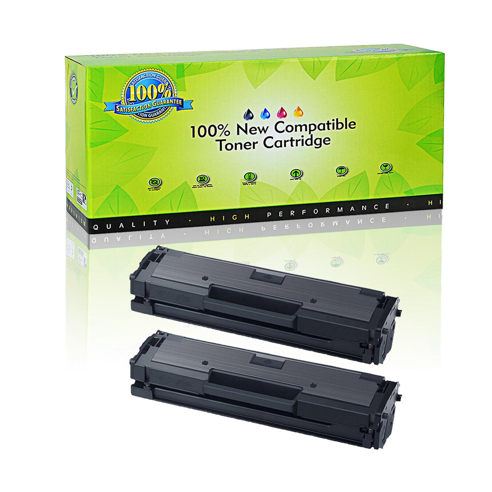 2 x Black Non-OEM Toner Cartridge For Samsung Xpress SL-M2070W SL-M2020