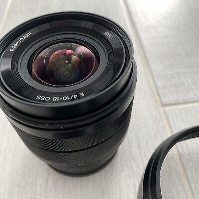 Sony 10-18mm F4 E 10-18mm F4 OSS