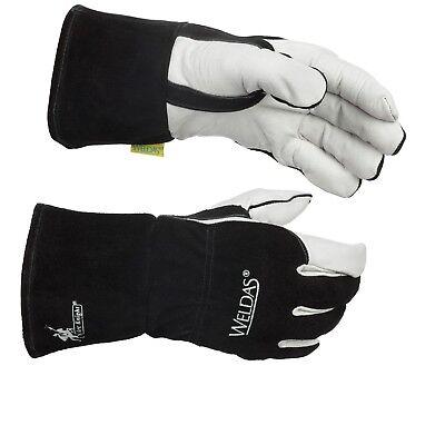 Weldas Arc Knight Migstick Welding Glove Made With Kevlar 100 Cotton Lining