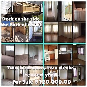 Mobile on property for sale