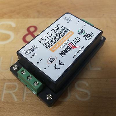 Power Plaza Fs15-24c Power Invertor Ac 100-240v 0.36 Amp 5060hz - Used
