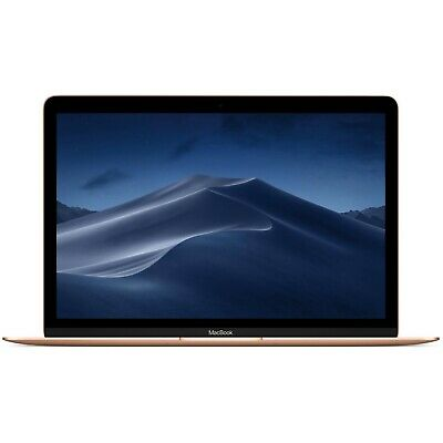 "NEW Apple MacBook 12"" IPS - Intel M3 256GB SSD 8GB RAM Retina 1440p - Gold"