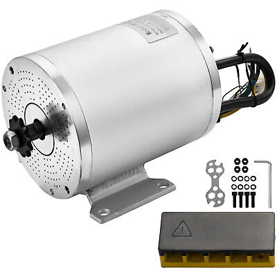 Electric Brushless Motor 2000w 60v Dc For E-bike Scooter Bicycle Conversion