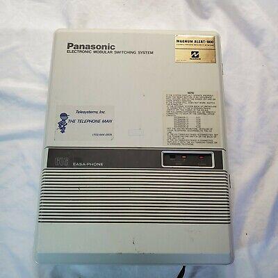 Panasonic Easa-phone Electronic Modular Switching System 616 Model No Kx-t61610