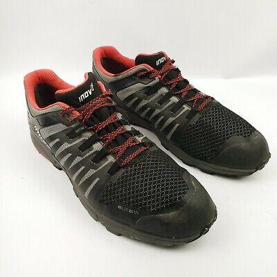 Inov-8 Roclite 305 Trail Running Shoe - Black and Gray - Mens 15 US