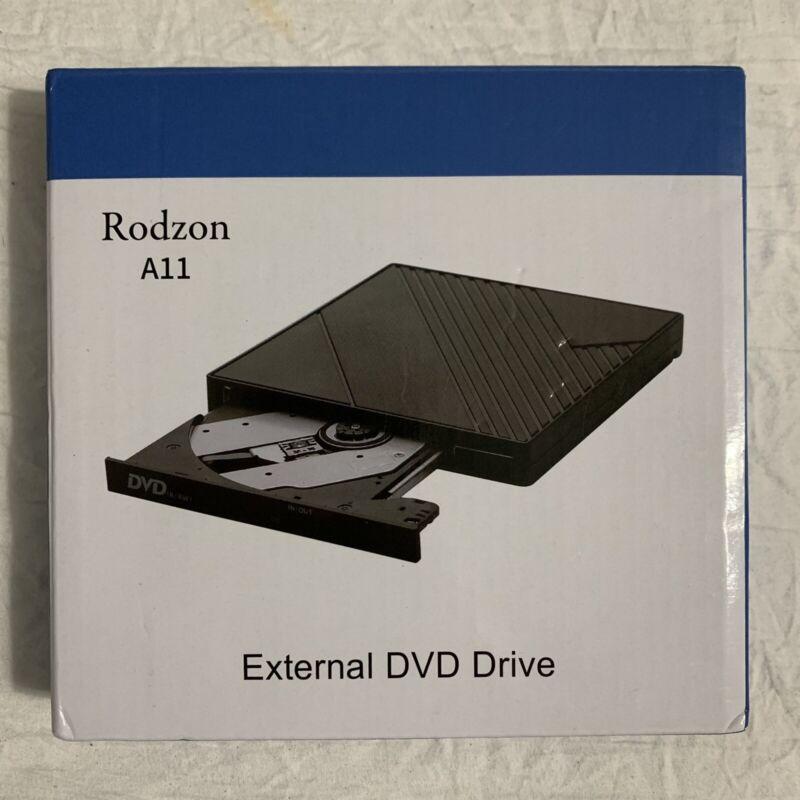 Rodzon External DVD Drive ODD Device A11-SU3 NIB