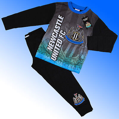 Boys Authentic Official Newcastle United FC AOP Pyjamas #NUFC Age 4-12 Years