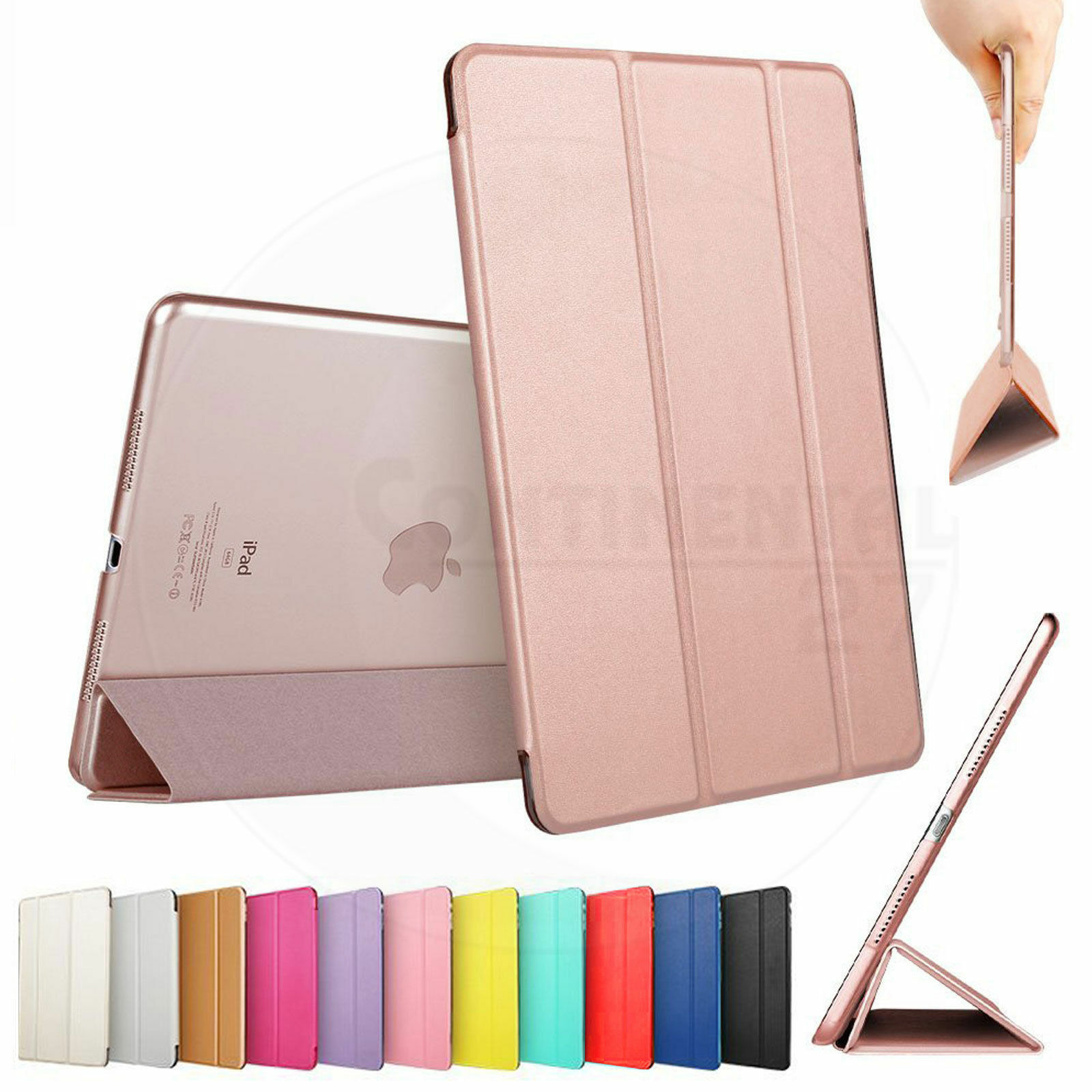Smart Stand Sleep/Wake Magnetic Leather Case Cover For APPLE iPad Mini 1,2,3 & 4