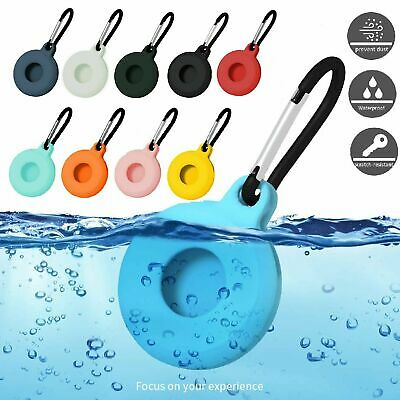 For Apple Air Tag Case Keychain Silicone Protective Cover Shockproof AirTags Cases, Covers & Skins