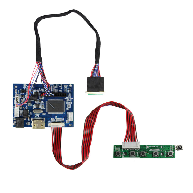 """HDM I LCD Controller Board Work For 15.6"""" B156XW02 LP156WH2 1366x768 LCD Screen"""