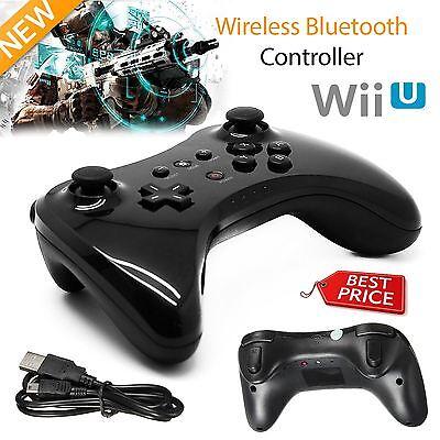 Wireless Classic U Pro Bluetooth Gamepad Joystick Controller for Nintendo Wii U
