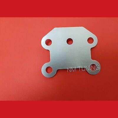 259. AGR Verschlussplatte für OPEL 1.7 CDTI Astra H J Meriva AB Zafira B Corsa D, gebraucht gebraucht kaufen  Rheda-Wiedenbrück