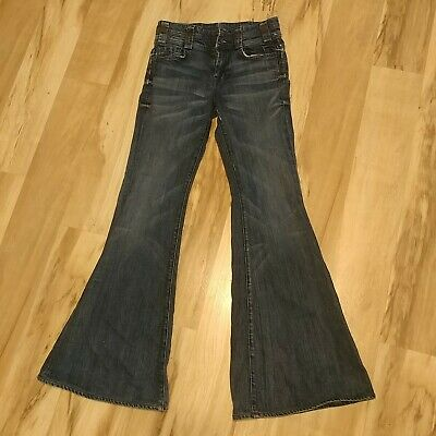 7 for all mankind High Waisted Jeans Flare Bell Bottom Women's/Juniors 24