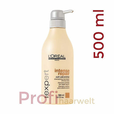 Loreal Serie Expert Intense Repair Shampoo, 500 ml (Restposten)