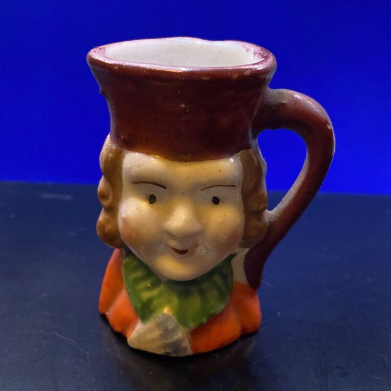 Vintage Miniature Toby Mug Signed Made in Occupied Japan