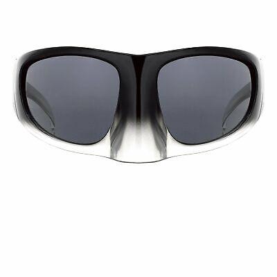 Bernhard Willhelm Sunglasses Mask Black and Grey