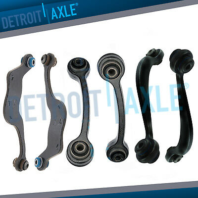 6pc Rear Upper Control Arm Kit for Chevy Traverse GMC Acadia Buick Enclave 3.6L