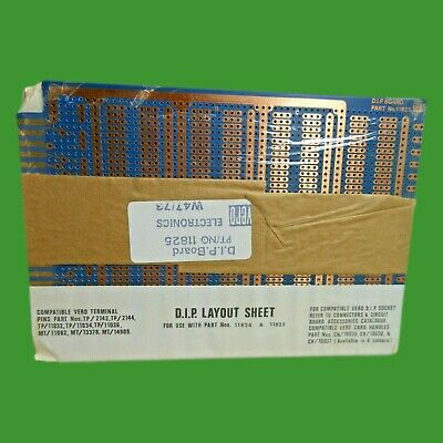 Vero Terminal Prototype Wirewrap Engineering Dip Socket Circuit Board Part 11825