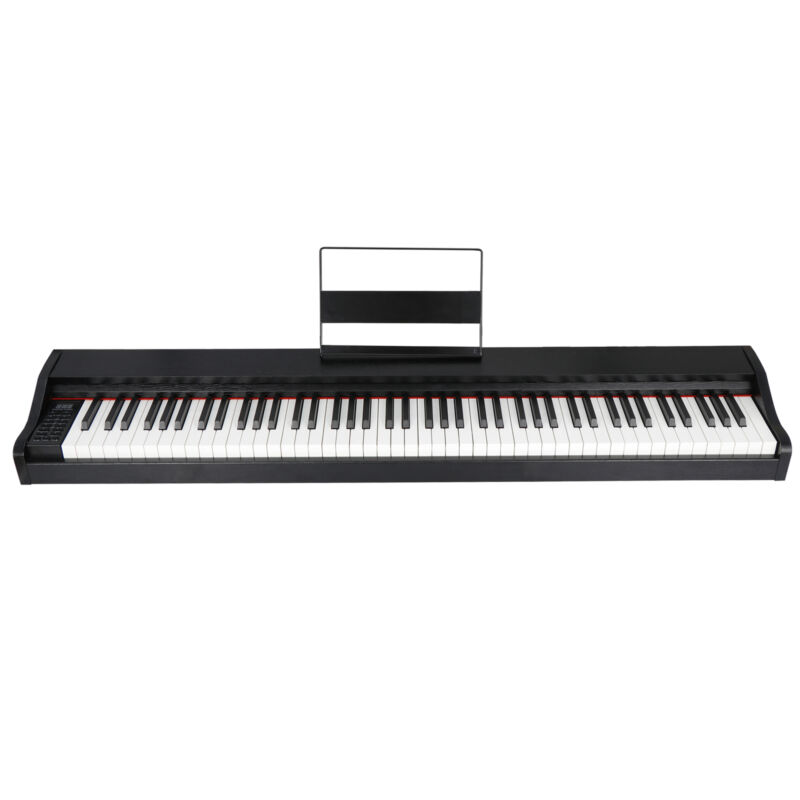 88 Key Beginner Digital Piano / Keyboard with Full Size Semi Weighted Keys