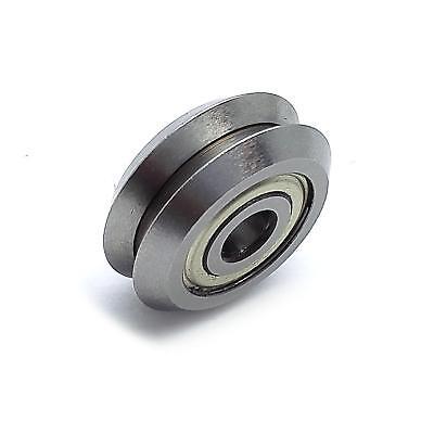 Us Stock Rm1zz 316 4.763 X 19.56 X 7.87mm V Groove Guide Ball Bearings