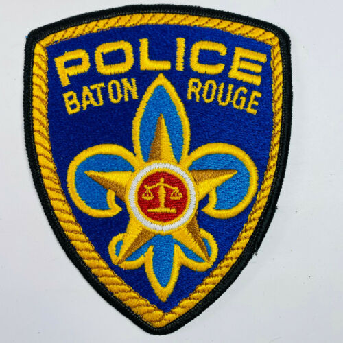 Baton Rouge Police Louisiana Patch (B) 5""