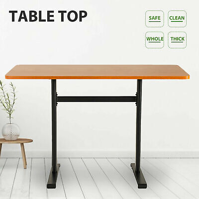 Desktop Table Surface Home Office Tabletop For Sit To Standing Desk Frame Brown