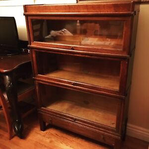 Barrister stacking bookcase