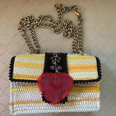 Kooreloo Divine Bijoux Fabric Heart Shoulder Bag