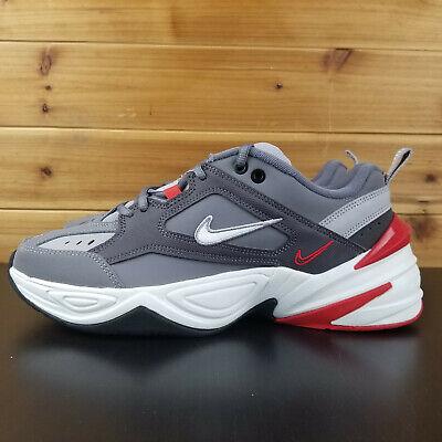 Nike M2K Tekno Lifestyle Gunsmoke Gray White Dad Shoes Men's  BV2519-001