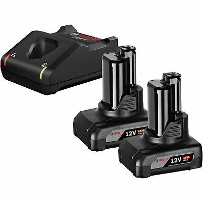 Bosch Starter-Set Ladegerät GAL 12V-40 10,8 - 12 V / 2x GBA 4,0 Ah