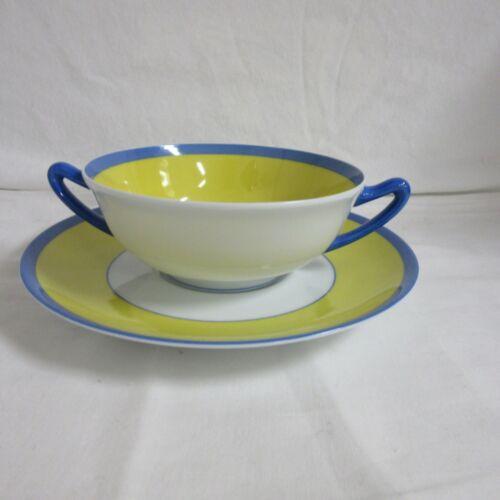 Charles Field Haviland - Monet - Cream Soup & Saucer - NWT