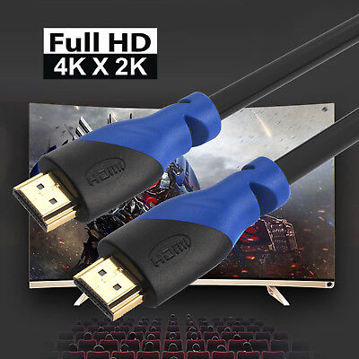 HDMI 2.0 Cable, 1.5/10/15/25/30/50ft,4K Ready,28AWG High-Speed 4K HDTV Cable 3D