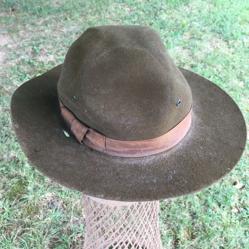 Vintage Old Boy Scout Hat