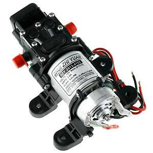 100PSI 4L/Min High Pressure Diaphragm Water Pump 12V For Car Marine Yacht Boat